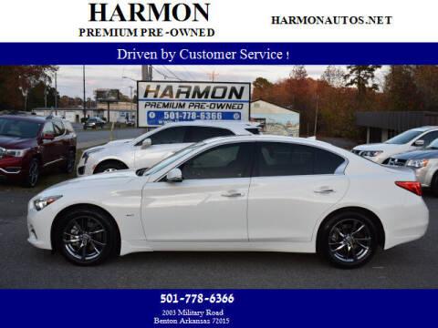 2017 Infiniti Q50 for sale at Harmon Premium Pre-Owned in Benton AR