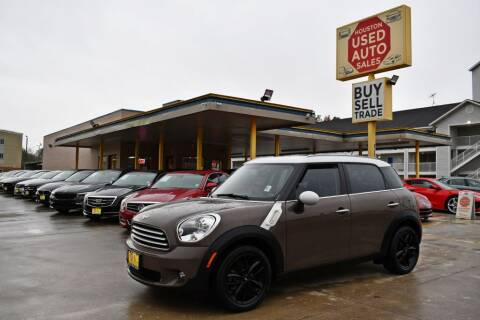 2013 MINI Countryman for sale at Houston Used Auto Sales in Houston TX