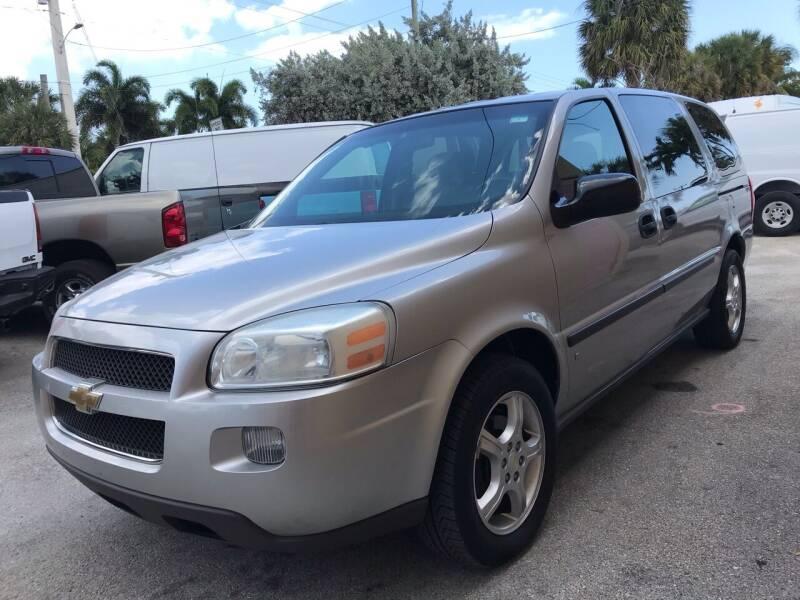 2007 Chevrolet Uplander for sale at Kaler Auto Sales in Wilton Manors FL
