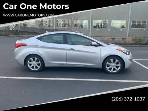 2012 Hyundai Elantra for sale at Car One Motors in Seattle WA