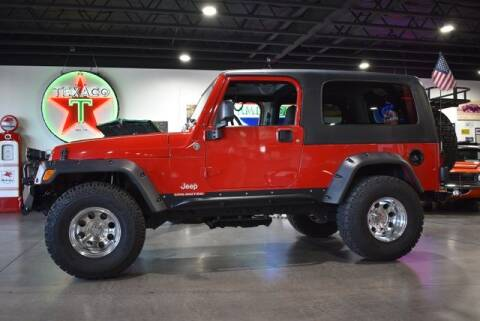 2005 Jeep Wrangler for sale at Choice Auto & Truck Sales in Payson AZ