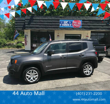 2016 Jeep Renegade for sale at 44 Auto Mall in Smithfield RI