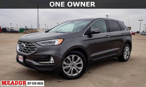 2019 Ford Edge for sale at Meador Dodge Chrysler Jeep RAM in Fort Worth TX