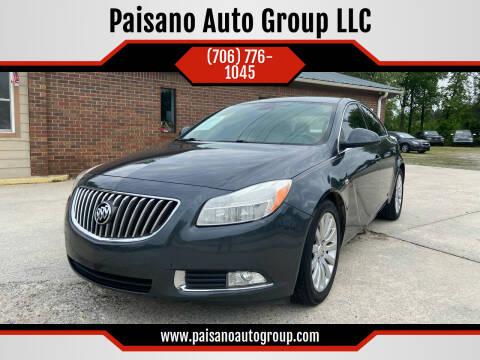 2011 Buick Regal for sale at Paisano Auto Group LLC in Cornelia GA