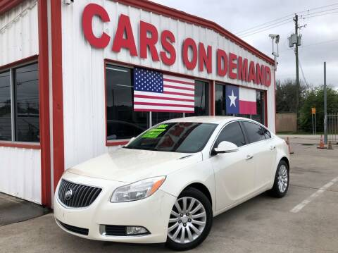 2012 Buick Regal for sale at Cars On Demand 3 in Pasadena TX