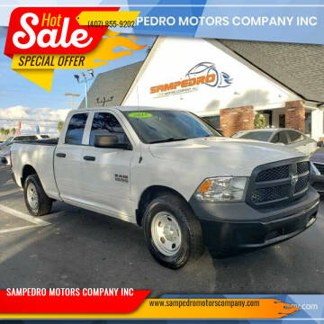 2015 RAM Ram Pickup 1500 for sale at SAMPEDRO MOTORS COMPANY INC in Orlando FL