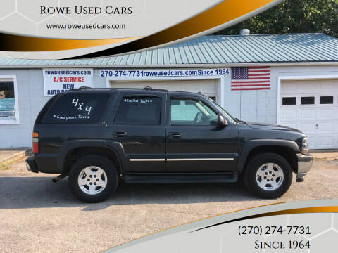 2005 Chevrolet Tahoe for sale at Rowe Used Cars in Beaver Dam KY