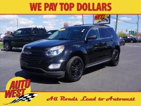 2017 Chevrolet Equinox for sale at Autowest Allegan in Allegan MI