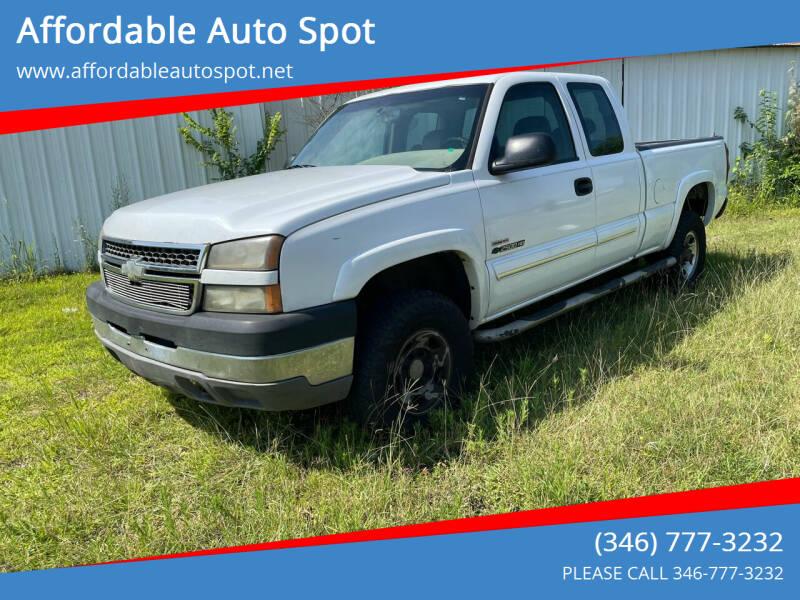 2005 Chevrolet Silverado 2500HD for sale at Affordable Auto Spot in Houston TX