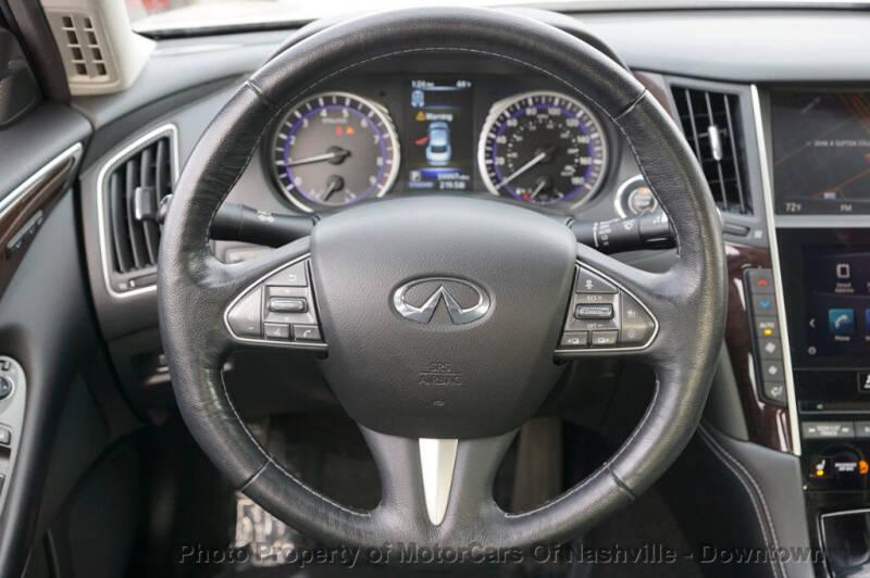 2016 Infiniti Q50 4dr Sedan 3.0t Premium AWD - Nashville TN