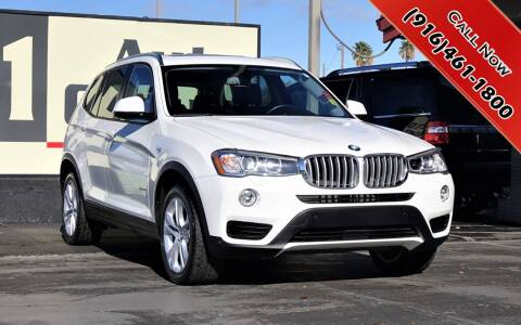 2017 BMW X3 for sale at H1 Auto Group in Sacramento CA
