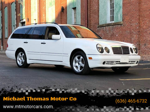 1999 Mercedes-Benz E-Class for sale at Michael Thomas Motor Co in Saint Charles MO