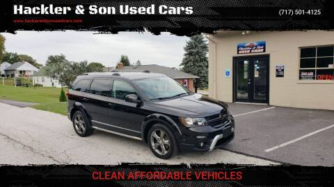 2014 Dodge Journey for sale at Hackler & Son Used Cars in Red Lion PA