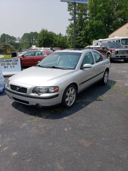 2004 Volvo S60 for sale at AUTO LANE INC in Henrico NC