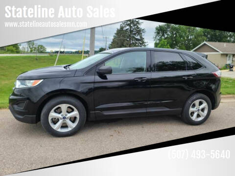2017 Ford Edge for sale at Stateline Auto Sales in Mabel MN