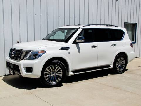 2019 Nissan Armada for sale at Lyman Auto in Griswold IA