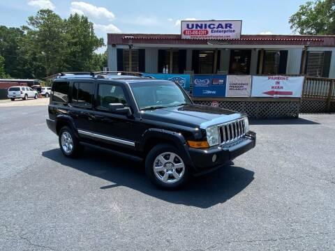2007 Jeep Commander for sale at Unicar Enterprise in Lexington SC