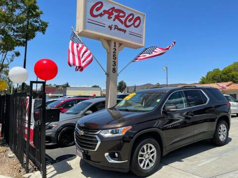 2018 Chevrolet Traverse for sale at CARCO SALES & FINANCE - CARCO OF POWAY in Poway CA
