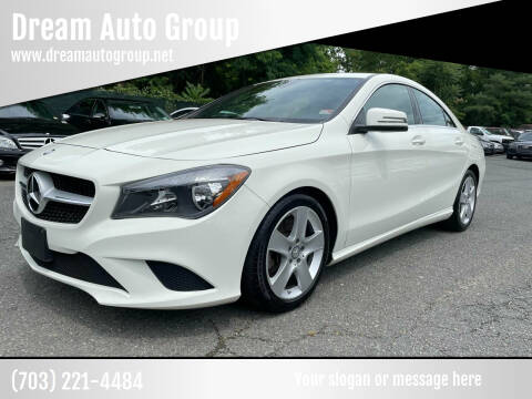 2016 Mercedes-Benz CLA for sale at Dream Auto Group in Dumfries VA