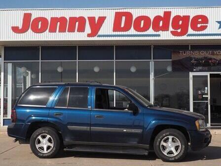 2004 Chevrolet TrailBlazer for sale at Jonny Dodge Chrysler Jeep in Neligh NE