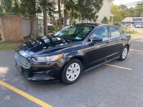 2013 Ford Fusion for sale at AMERI-CAR & TRUCK SALES INC in Haskell NJ
