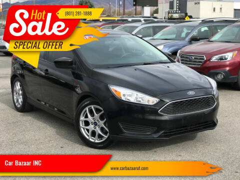 2018 Ford Focus for sale at Car Bazaar INC in Salt Lake City UT