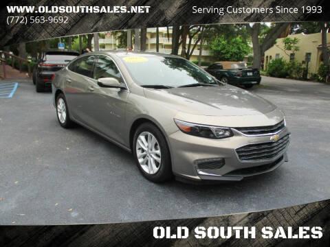 2017 Chevrolet Malibu for sale at OLD SOUTH SALES in Vero Beach FL