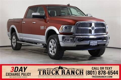 2015 RAM Ram Pickup 2500 for sale at Truck Ranch in American Fork UT