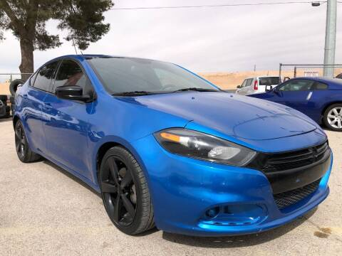 2015 Dodge Dart for sale at Eastside Auto Sales in El Paso TX