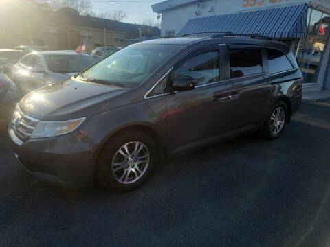 2012 Honda Odyssey for sale at Dad's Auto Sales in Newport News VA