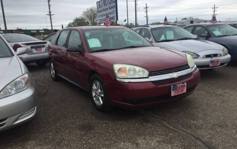 2005 Chevrolet Malibu Maxx for sale at L & J Motors in Mandan ND