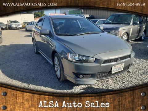 2009 Mitsubishi Lancer for sale at ALSA Auto Sales in El Cajon CA