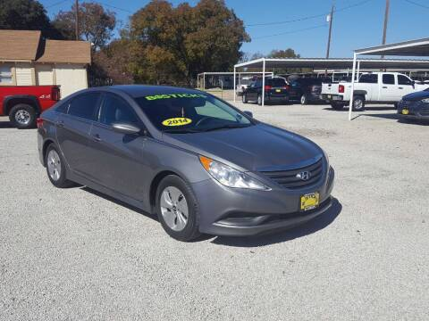 2014 Hyundai Sonata for sale at Bostick's Auto & Truck Sales in Brownwood TX