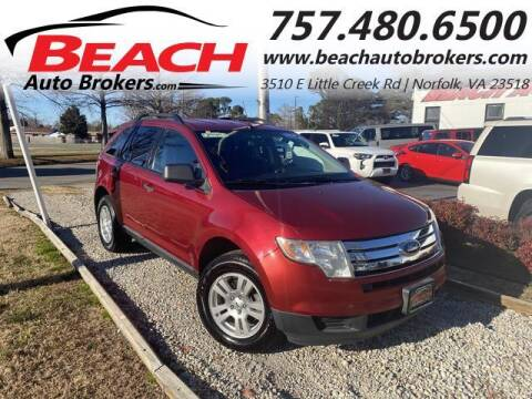 2009 Ford Edge for sale at Beach Auto Brokers in Norfolk VA