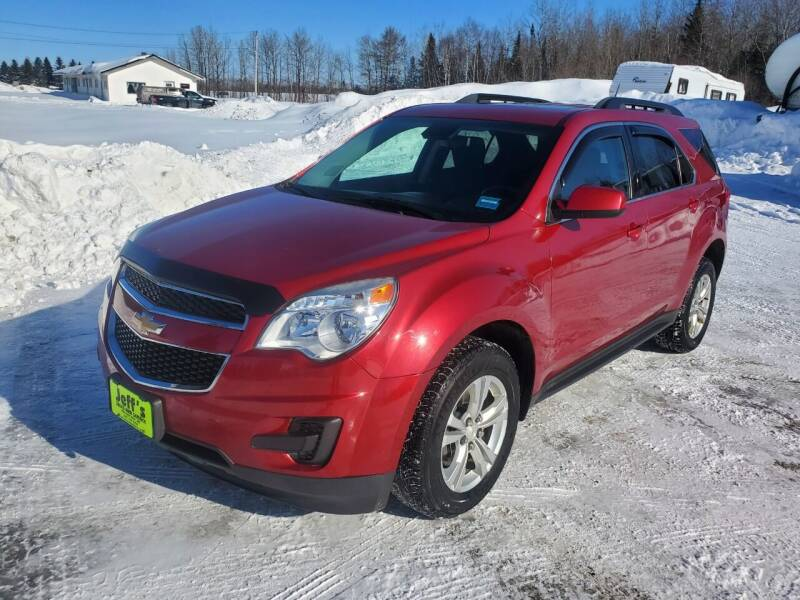 2014 Chevrolet Equinox for sale at Jeff's Sales & Service in Presque Isle ME