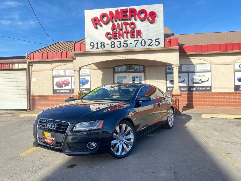 2012 Audi A5 for sale at Romeros Auto Center in Tulsa OK