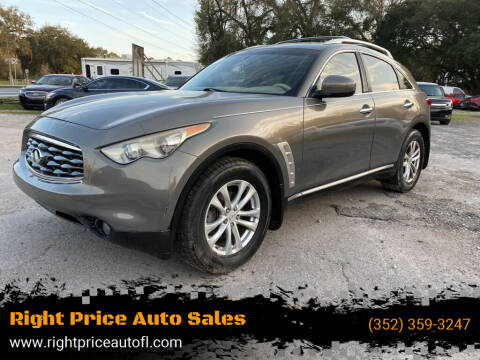 2009 Infiniti FX35 for sale at Right Price Auto Sales in Waldo FL
