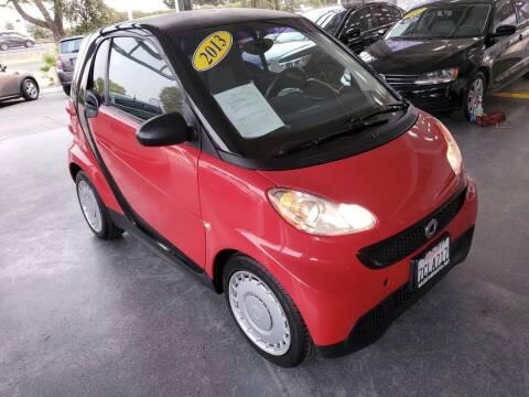 2013 Smart fortwo for sale at Sac River Auto in Davis CA