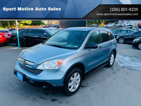 2008 Honda CR-V for sale at Sport Motive Auto Sales in Seattle WA