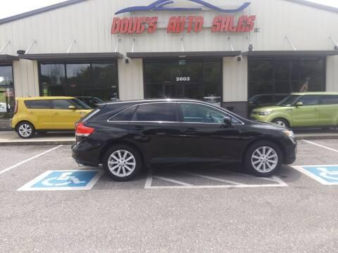 2012 Toyota Venza for sale at DOUG'S AUTO SALES INC in Pleasant View TN