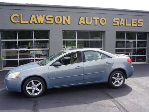 2008 Pontiac G6 for sale at Clawson Auto Sales in Clawson MI