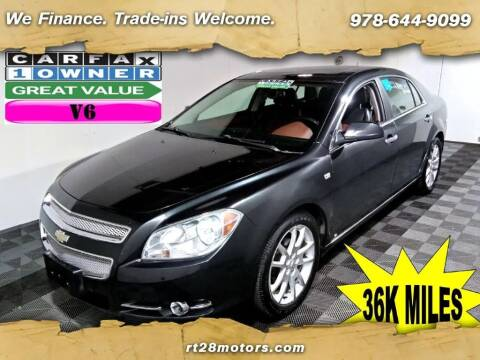 2008 Chevrolet Malibu for sale at RT28 Motors in North Reading MA