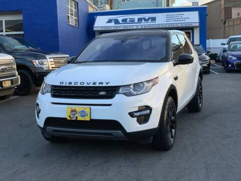 2019 Land Rover Discovery Sport for sale at AGM AUTO SALES in Malden MA