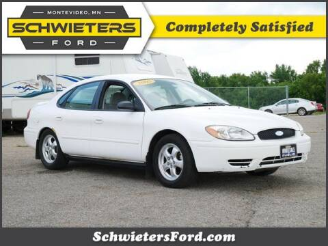 2005 Ford Taurus for sale at Schwieters Ford of Montevideo in Montevideo MN
