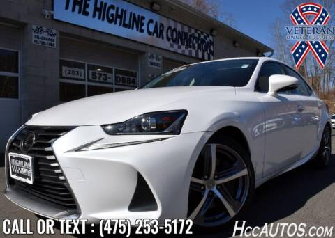 2017 Lexus IS 300 for sale at The Highline Car Connection in Waterbury CT