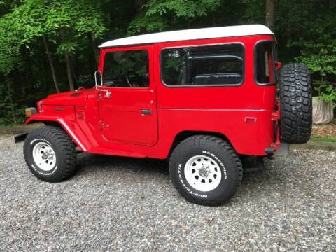 1978 Toyota Land Cruiser for sale at Classic Car Deals in Cadillac MI