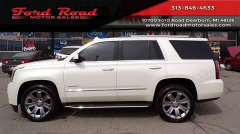 2015 GMC Yukon for sale at Ford Road Motor Sales in Dearborn MI