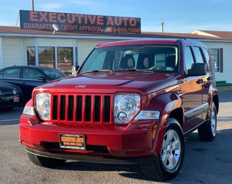 2012 Jeep Liberty for sale at Executive Auto in Winchester VA