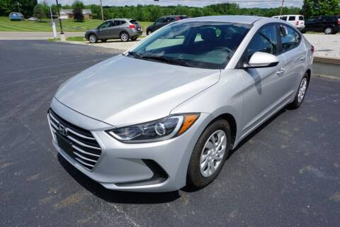 2017 Hyundai Elantra for sale at MyEzAutoBroker.com in Mount Vernon OH