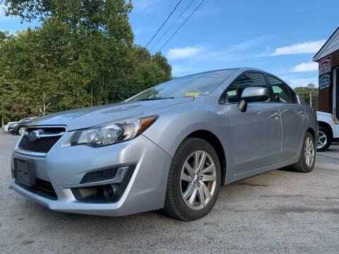 2016 Subaru Impreza for sale at Auto Warehouse in Poughkeepsie NY